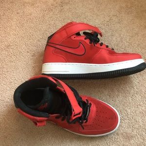 Nike Shoes   Nike Air Force High Id